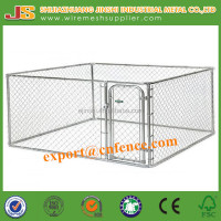 6'H x10'W x 10'D galvanized Chain Link dog Kennel & dog run & dog fence panel
