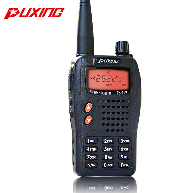 PUXING PX-358 UHF 400-470MHz Dual Receiver Handheld 2-Way Radio FM Transceiver
