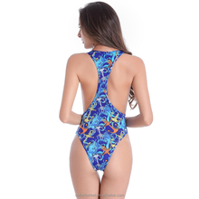 Wild Sexy Cut Out Race back Monokini swimsuit with removable pad swimwear for girls