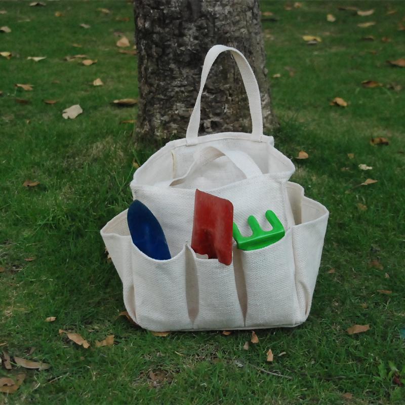 Wholesale burlap garden tool bag burlap durable utility for Gardening tools wholesale