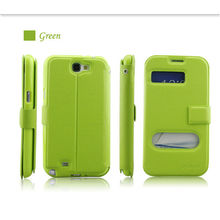 new pu design for samsung galaxy note 2 cute cases