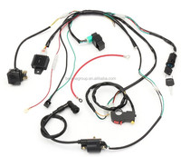 Ignition CDI Engine Starter Wiring Harness Set For 50cc-125cc ATV Racing Motorcycle
