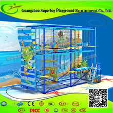 Innovative Product Playground indoor High jungle gym 153-27C