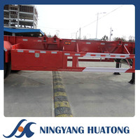 Low Price Fence LHL9403TJZ Skeleton Container Semi Trailer