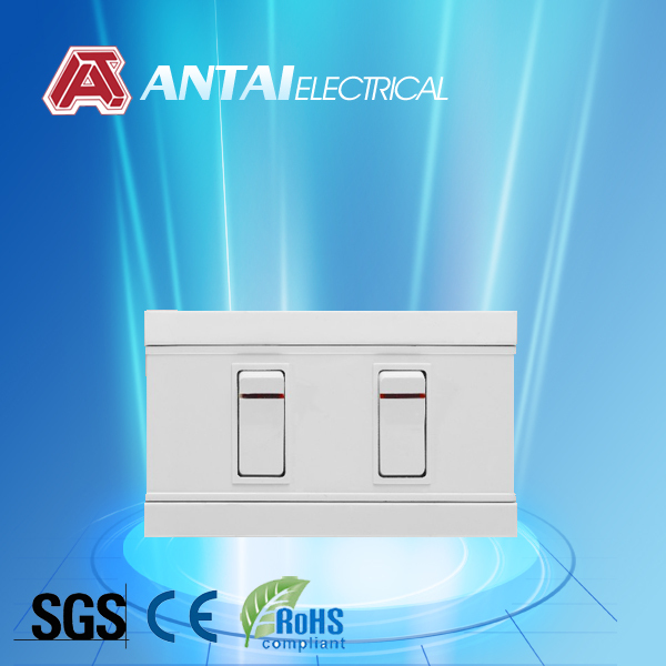 new led illuminated wall switch south american