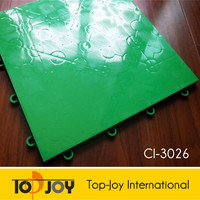 Sport Indoor Interlocking Plastic Floor Tiles