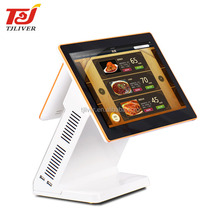 "15.6"" Dual Display Restaurant All In One Touch POS System/POS Terminal/POS Machine"