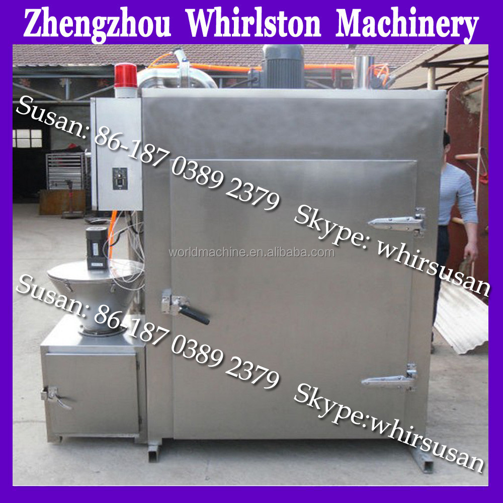 Hot automatic control system meat smoke chamber