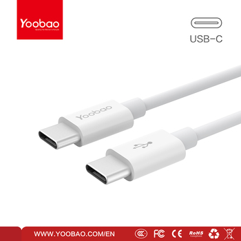 YOOBAO USB2.0 Type-C to Type C Cable data cable for New Macbook