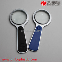 Popular industrial magnifying glass with magnifying lens 10x,cheap high quality plastic magnifying lens