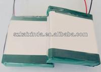 lipo 3.7v 8000mah battery pack for power bank