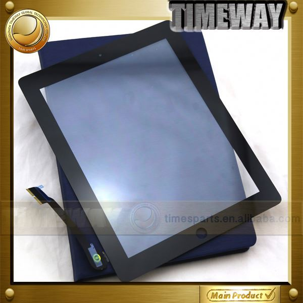 Timeway Best quality tempered glass screen protector for ipad 2 3 4