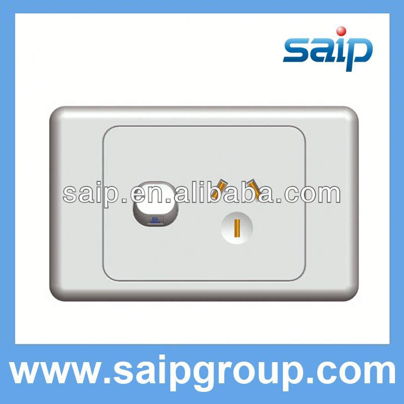 SAA australian standard wall switches with neon light AS series
