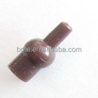 Soft rubber tulip beads in brown Carp - Coarse - Fishing Terminal End Tackle