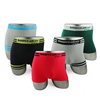 Multi Colors Comfortable Shorts Underwear OEM Custom Men Boxer Briefs
