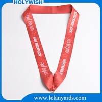 Custom size medal belt lanyard sublimation printing