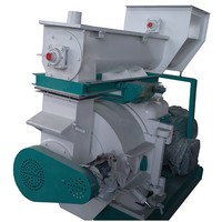 Newest type ring die straw pellet mill
