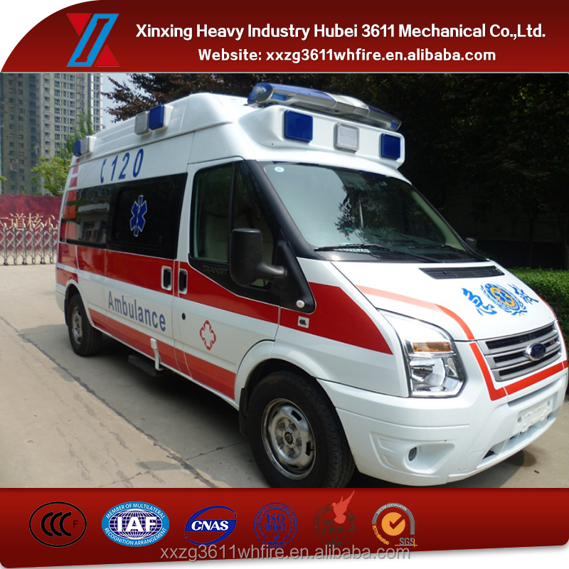 Hot Sale Wholesale New Medical Equipment Emergency Rescue Ambulance Car