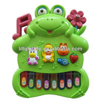 Musical Frog Animal Electronic Organ Toy