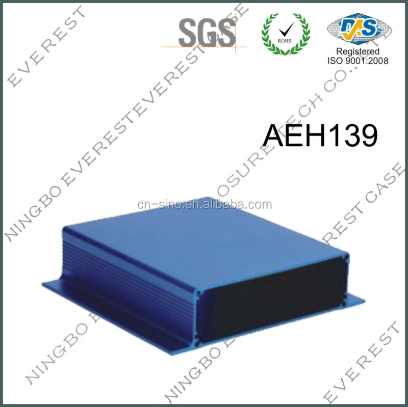 High quality electronic project boxes with 6063 aluminum
