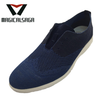 Nice design cheap light weight men fashion sport shoes