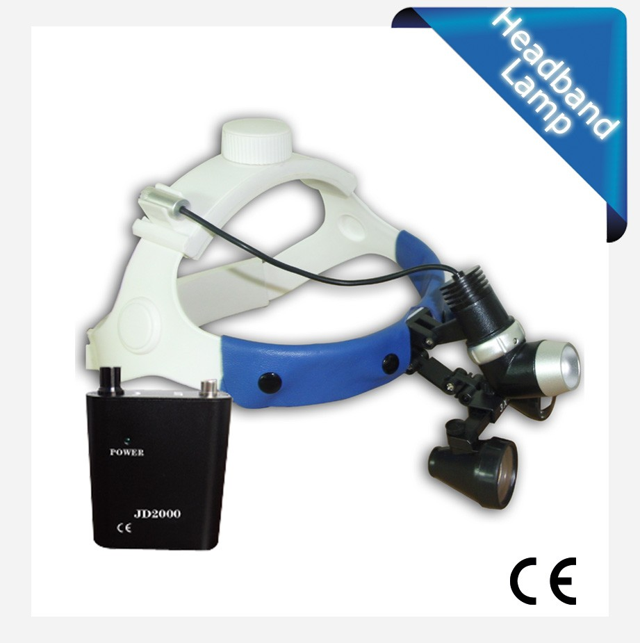 clinic hospital instruments led headlight 5w rechargeable with light adjustable