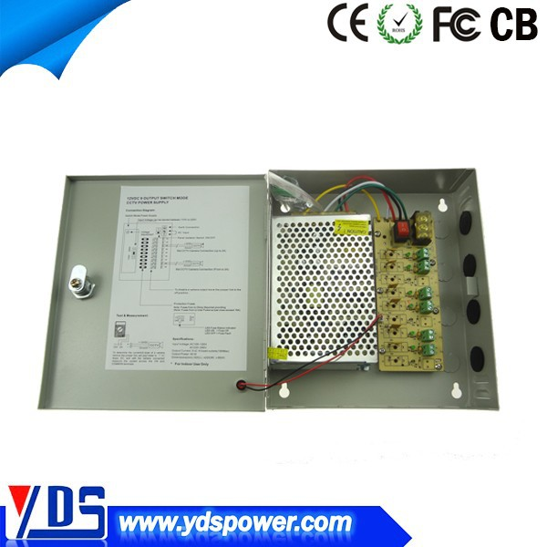 alibaba sign in 360w PTC fuse cctv power supply box 18chs support LED, CCTV supervisory system