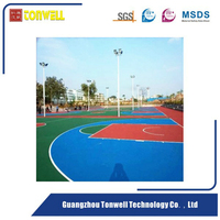 Eco-friendly Acrylic acid tennis sport court flooring material