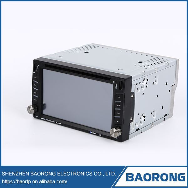 Bluetooth touch screen movement 2 din 6.95 inch car dvd player