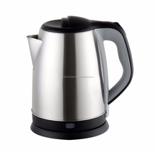 New design CE,CB,ROHS,LFGB stainless steel tea maker portable electric kettle