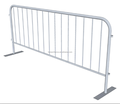 2m Loose Leg Galvanised Crowd Control Barrier/Safety Removable Loose foot Pedestrian Barriers