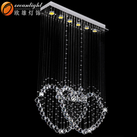stainless steel chandelier,crystal chandelier replacement parts OM88513-L80