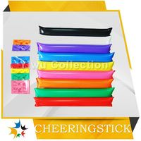 football noise maker,promotional inflatable cheering sticks,party ware