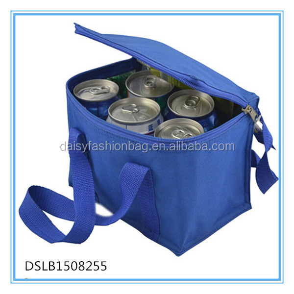 Top quality designer polyester insulated cooler lunch bag, wholesale cheap lunch cooler bag,promotional cooler bag