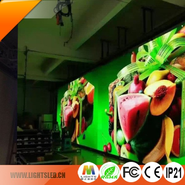 High brightness led screen P6 Indoor P5 P4 P3 led, indoor led display shenzhen led