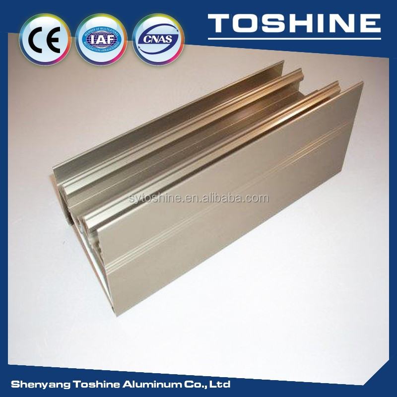 6063 T5 Curved Aluminum Profile To Make Window Door Curtain Wall