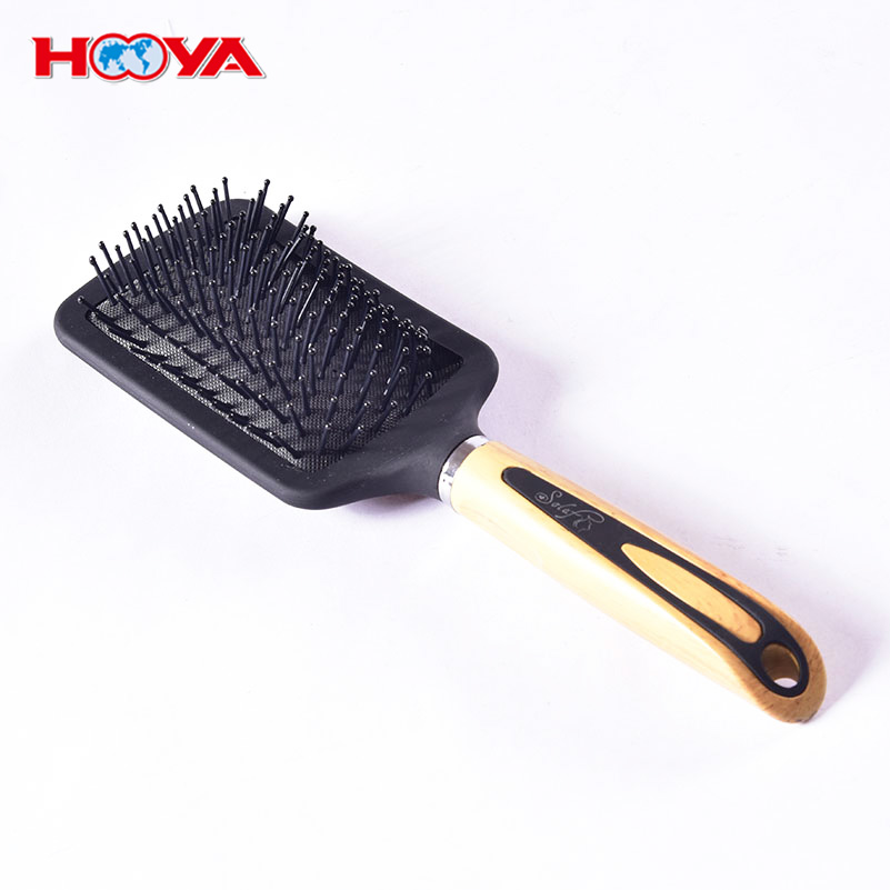 Classic Custom Massage Airbag Hair Paddle Brush Repair Hair Straightener Brush