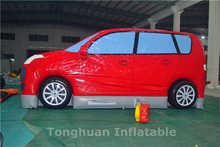 Giant inflatable car model/inflatable fixed cartoon