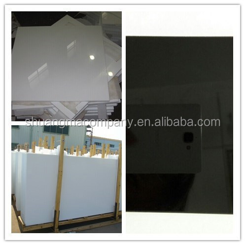nano crystal wall panel beveled glass big slab
