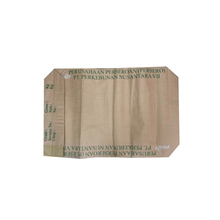 25kg 50kg kraft paper cement lime powder packing bag paper valve bag