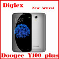 New Arrival Doogee Y100 Plus 4g lte Phone Android 5.1 MTK6735 Quad Core 5.5'' 1280*720p 2GB/16GB Multilanguage mobile phone