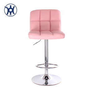 Lovely Pink Bar Stools china Height Adjustable Swivel chairs for sale