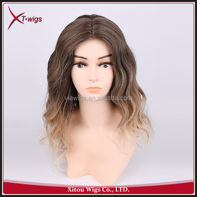 Fashion Style Various Color Afro Full Lace Synthetic Wig
