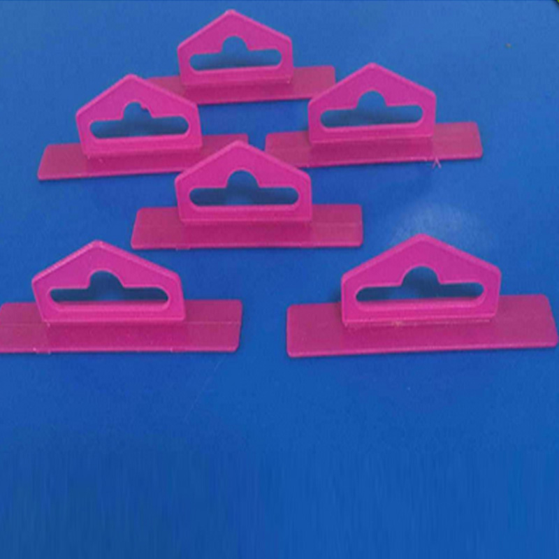 Hot sale Customized various plastic plug-in euro hole hang tab