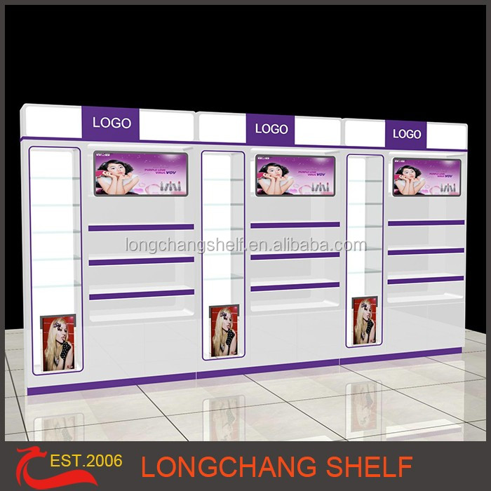 Cosmetic display stand for Skin care products sell