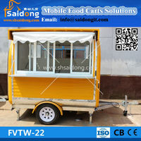 movable coffee shop container Hot Seller Mobile Outdoor Food Kiosk