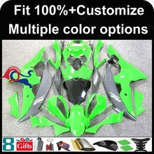 INJECTION MOLDING panels 2008 2009 2010 2011 2012 YZFR6 For yamaha green fairing YZF R6 2008-2012 YZFR6 2008 2009 Racing Afterm