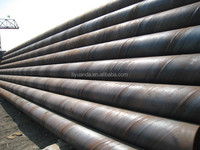 LOW PRICE WELDED STEEL PIPE FOR WATER, GAS AND OIL TRANSPORT