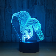 Zogift 3d night light touch table desk lamps acrylic lighting
