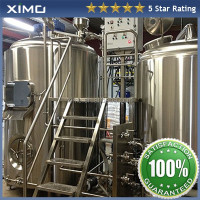 Micro copper Beer home,bars brewing equipment / Barley beer brewery Plant,Automatic beer brewing